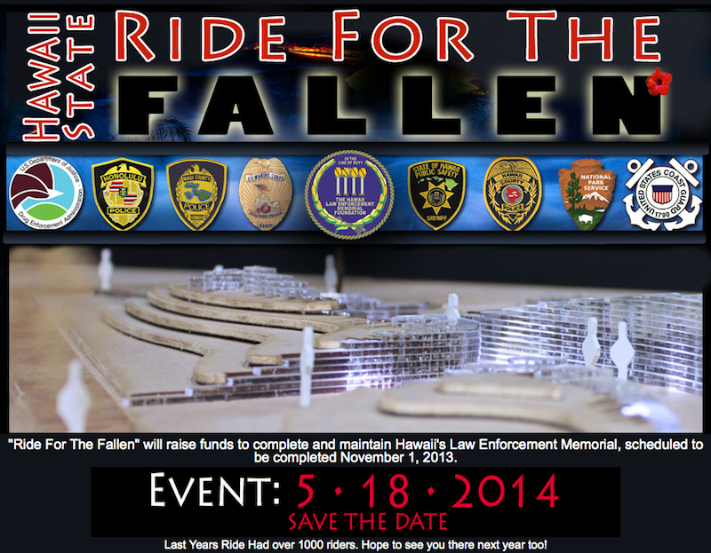 Ride For The Fallen Hawaii